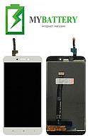 Дисплей (LCD) Xiaomi Redmi 4X | 4X Pro с сенсором белый +рамка