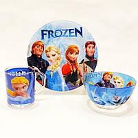 Набор детской посуды Frozen