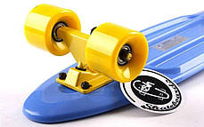 Скейт Пенни борд Penny Board Пенні Fish Skateboards 22.5 Blue - Синий 57 см, фото 3