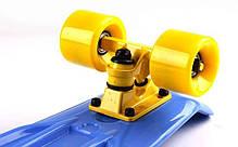 Скейт Пенни борд Penny Board Пенні Fish Skateboards 22.5 Blue - Синий 57 см, фото 2