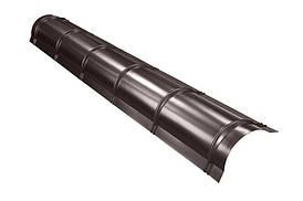 Конек круглий малий SSAB 2000 мм Purex 887 шоколад
