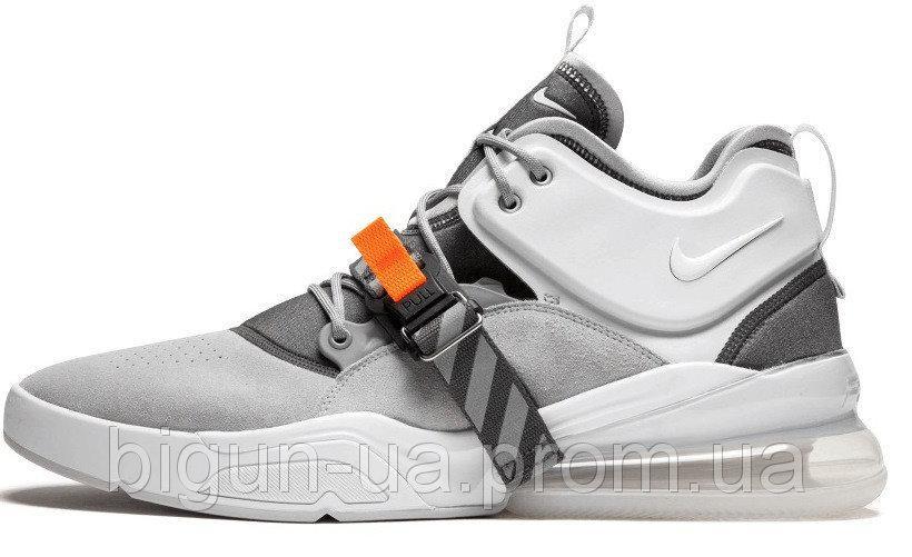 05bf18a8 Мужские кроссовки Nike Air Force 270 Wolf Grey (найк аир форс 270, серые)