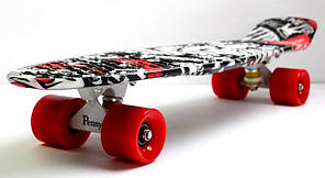 Скейт Пенни борд Penny Board Пенні Zippy Board Nickel Print 27 - Street 68 см , фото 2