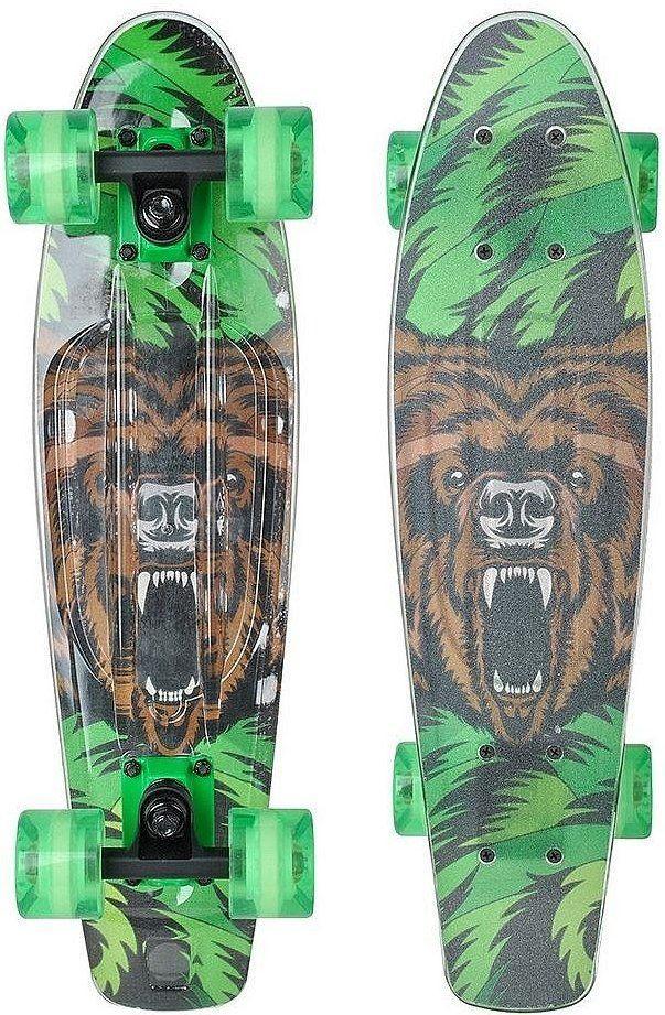 Пенни Борд Tempish Buffy 3xFlash - Bear / Медведь