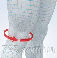 Эластичный наколенник Aurafix 114 с гелевой подушечкой и 4 ребрами жесткости, фото 3