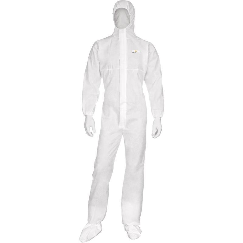 Комбинезон одноразовый белый  DELTA PLUS DT215