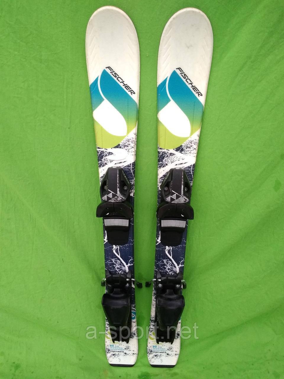 Дитячі гірські лижі Fisher Wotea 80 см  продажа f479178bd7ed2