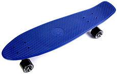"Пенни Борд Fish Skateboards 27"" Nickel - Dark-Blue Никель 68 см (fs111), фото 2"