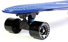 "Пенни Борд Fish Skateboards 27"" Nickel - Dark-Blue Никель 68 см (fs111), фото 3"