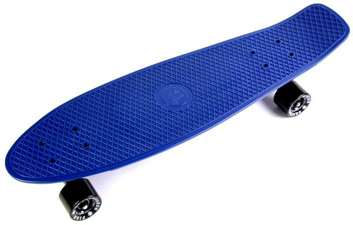 "Пенни Борд Fish Skateboards 27"" Nickel - Dark-Blue Никель 68 см (fs111)"