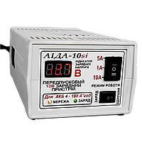 АИДА-10si импульсное десульфатирующее зарядное предпусковое устройство для кислотных и гелевых АКБ с цифровой индикацией