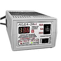АИДА-20si импульсное десульфатирующее зарядное предпусковое устройство для кислотных и гелевых АКБ с цифровой индикацией