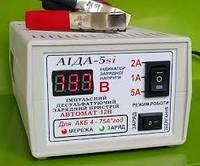 АЇДА-5si імпульсне десульфатирующее зарядний пристрій для кислотних і гелевих АКБ з цифровою індикацією