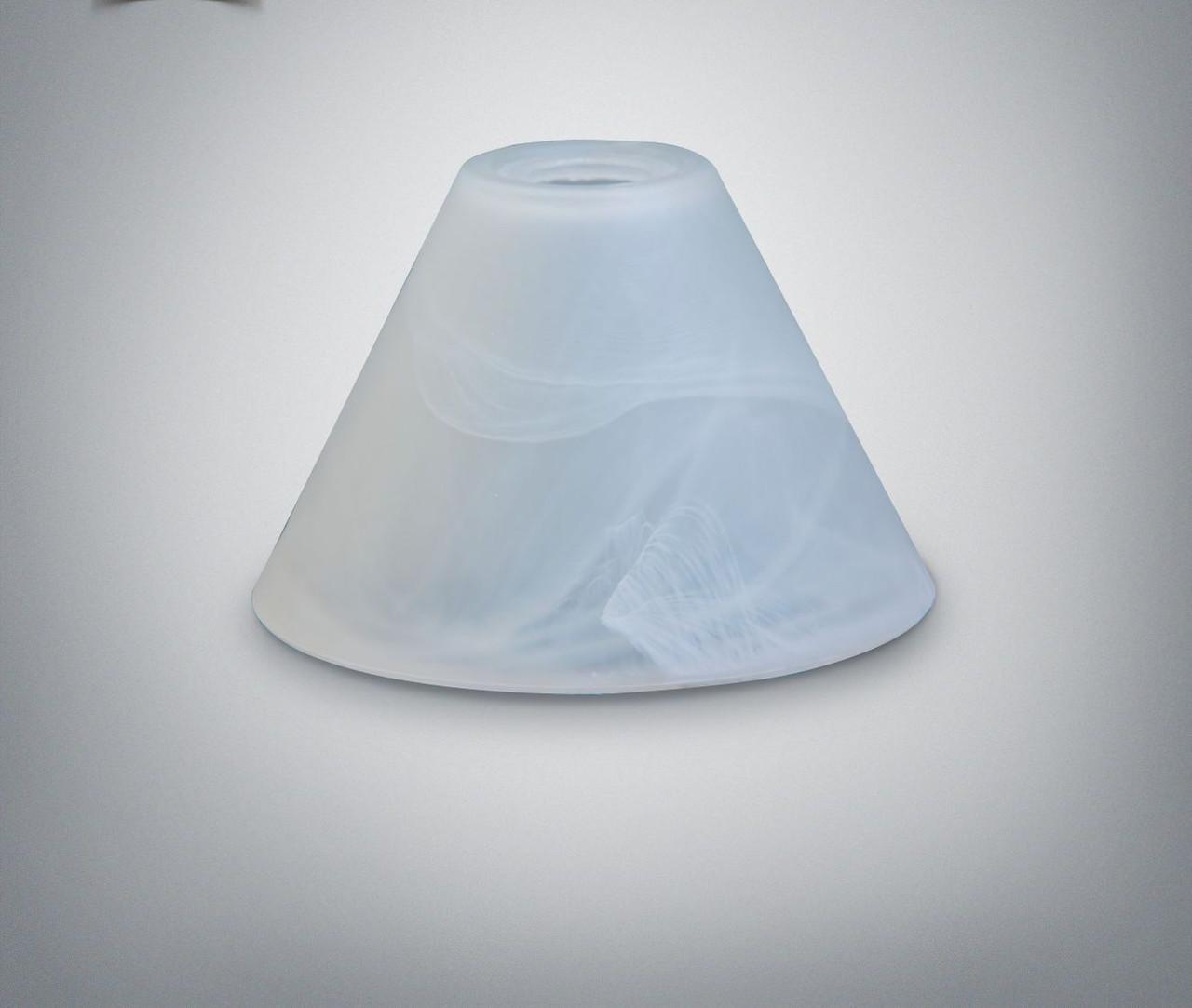 Плафон конус 15,5 белый, цоколь Е14