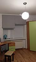 Римская штора Серая, 0,92м+0,92м, фото 1