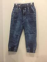 Детские джинсовые брюки джоггеры для мальчика 98,104,128 см