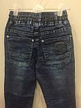 Детские джинсовые брюки джоггеры для мальчика 98,104,128 см, фото 5