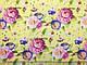 Джинс тенсел рубашечный весенний букет, желтый, фото 3