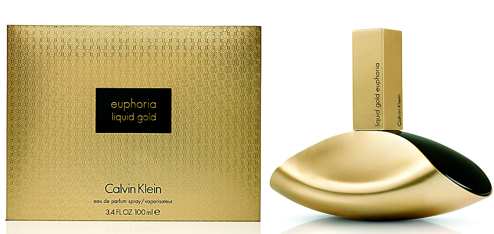 Calvin Klein Euphoria Liquid Gold парфюмированная вода 100 ml. (Кельвин Кляйн Эйфория Ликвид Голд)