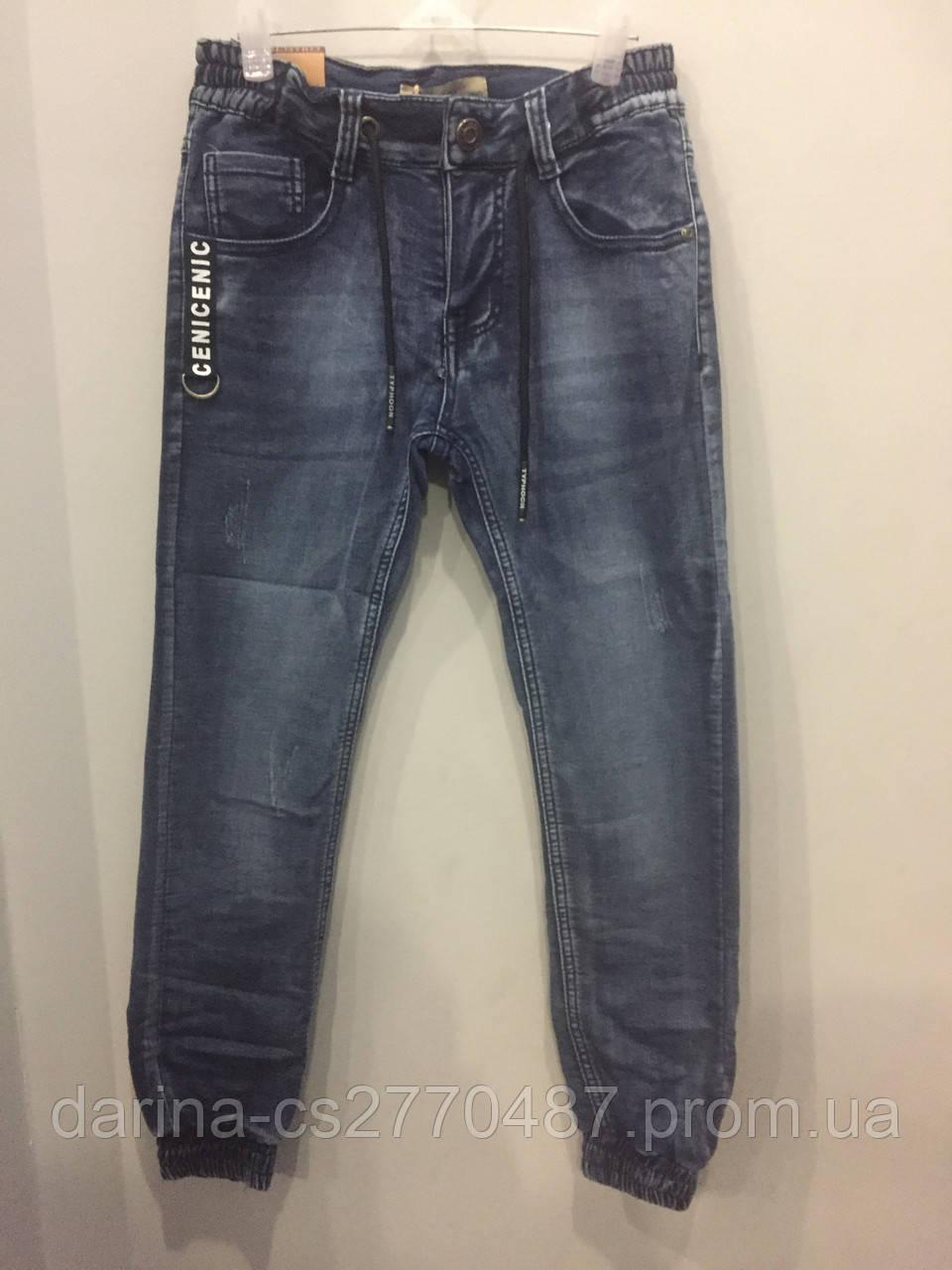 Подростковые джинсовые брюки джоггеры для мальчика 134,146,164 см