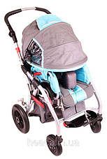 Реабилитационная детская коляска Rehab Buggy OSD RE-MK2200, фото 2