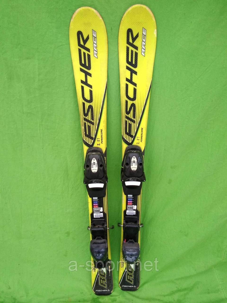 Дитячі гірські лижі Fisher race 100 см  продажа dae04b9510981