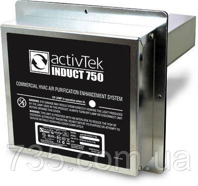 Встраиваемая система очистки воздуха INDUCT 750, фото 2