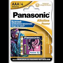 """Батарейки """"PANASONIC"""" Alkaline Power AAА LR03 (4 шт/уп) мизинец"""