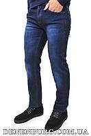 Джинсы мужские утеплённые DISVOCAS 3365 тёмно-синие, фото 1