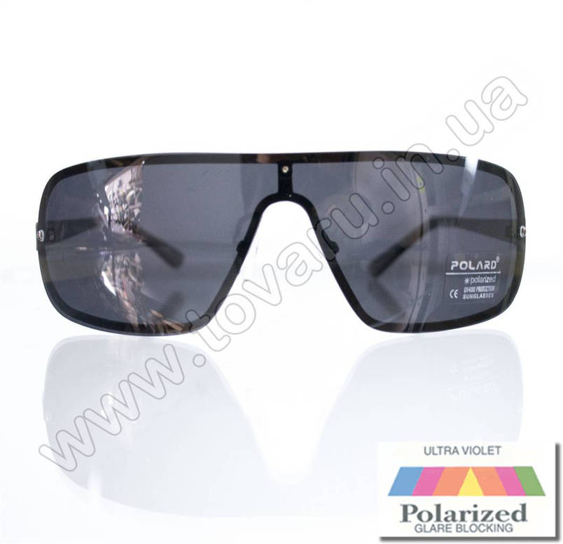 Очки мужские солнцезащитные поляризационные - Черные - P09036, фото 2