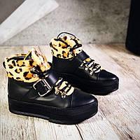 Зимние ботинки из натуральной кожи 36-40 р