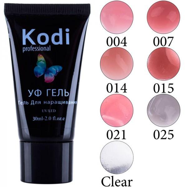 Уф гель для наращивания Kodi, 30мл pro