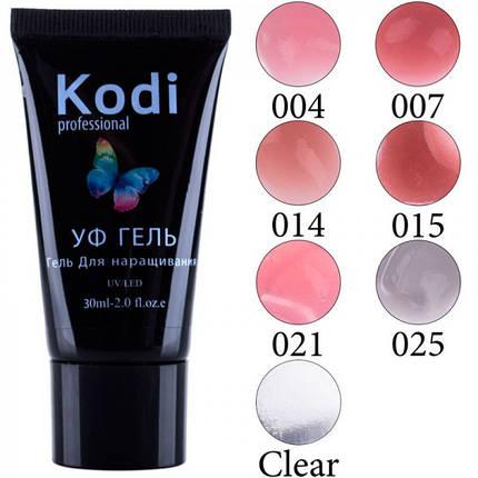 Уф гель для наращивания Kodi, 30мл pro, фото 2