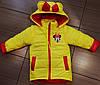 Легкую куртку жилетку на девочку с Микки Маусом яркую, фото 7