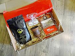 Универсальный подарок для женщин - Кофейный или Чайный комплимент с шоколадом