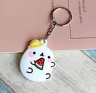 Милый силиконовый брелок для ключей для девочки