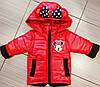 Куртка весенняя для девочки со сьемными рукавами новинка, фото 5