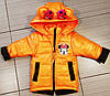 Куртка весенняя для девочки со сьемными рукавами новинка, фото 6