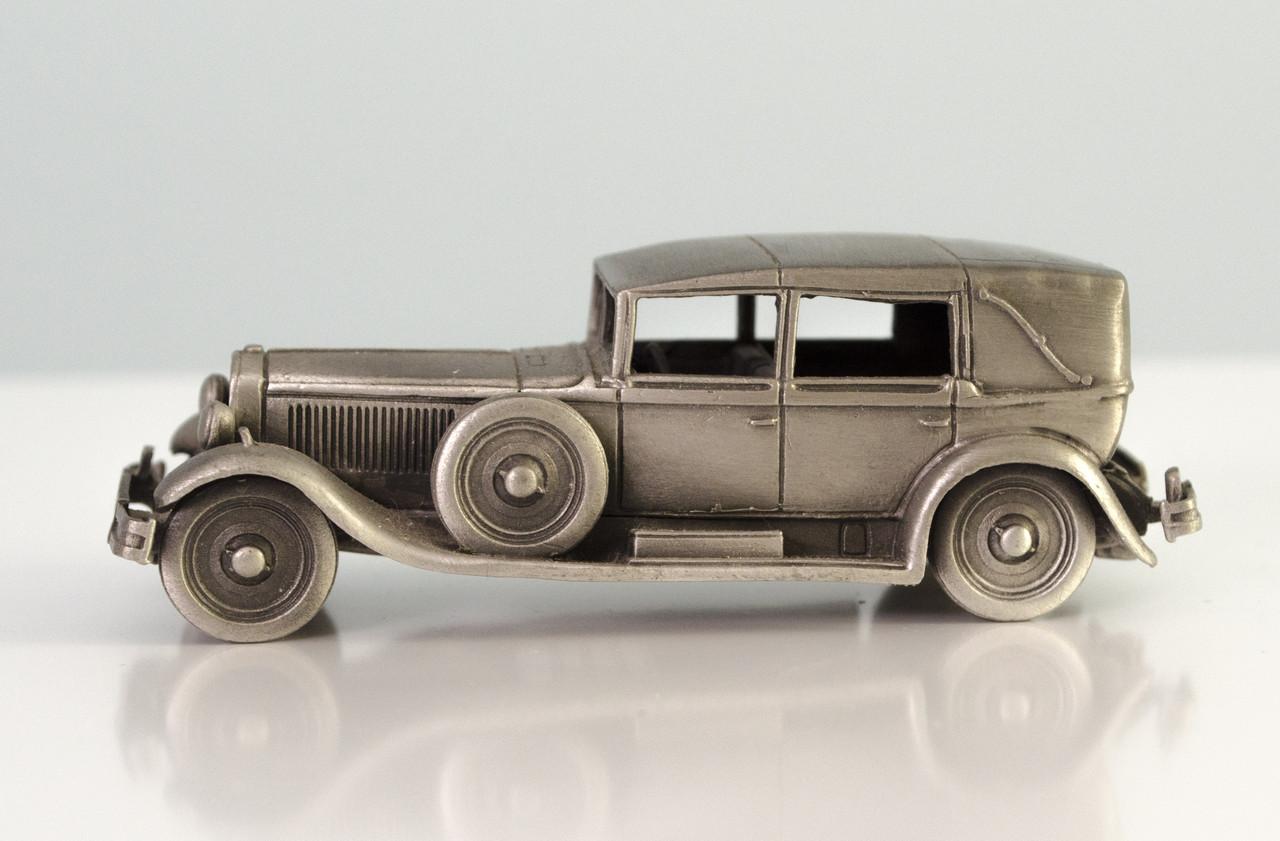 Модель автомобіля, Isotta Fraschini, мініатюра, олово, Franklin Mint, Малайзія