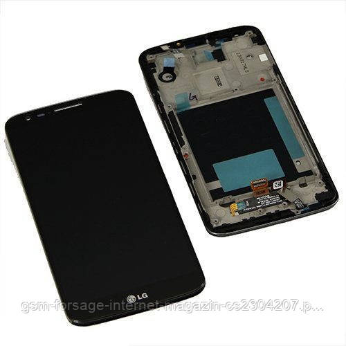 Дисплей LG G2 D802 Black (10 pin touch) complete with frame
