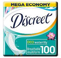 Ежедневные гигиенические прокладки Discreet Deo Water Lily Multiform 100 шт
