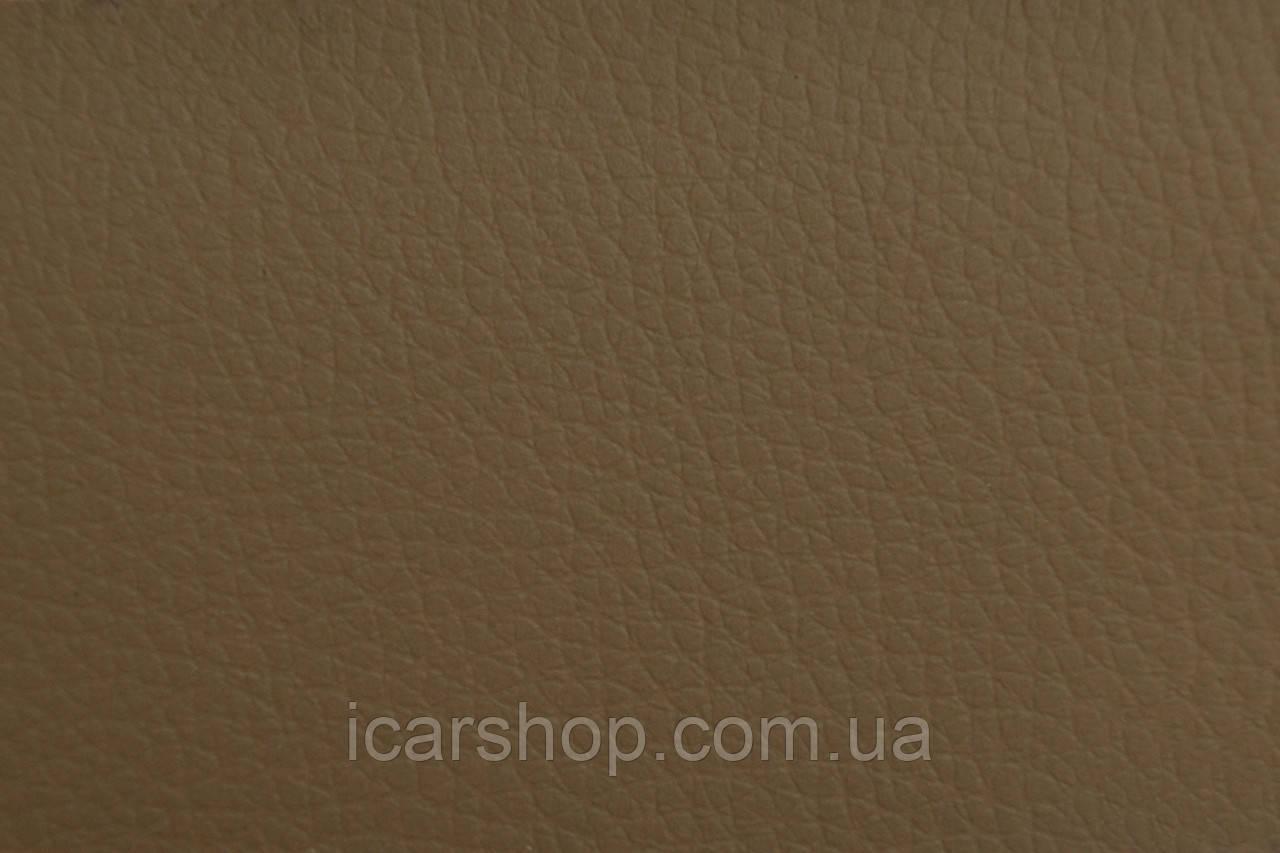Кожзаменитель светло-коричневый на поролоне + войлок  4 мм (1,45 м)