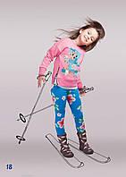 Джемпер Печворк детский для девочки, 104 р, фото 1
