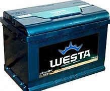 WESTA Аккумулятор 6CT-74 А (0), правый +, 720A