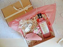 """Подарок для любимой, девушки, женщины - набор """"Розовое счастье"""""""