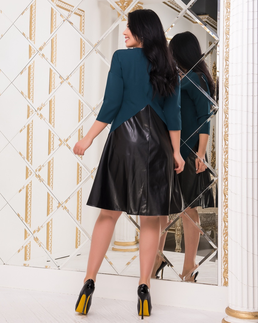 Женское стильное платье ВИ097(бат)