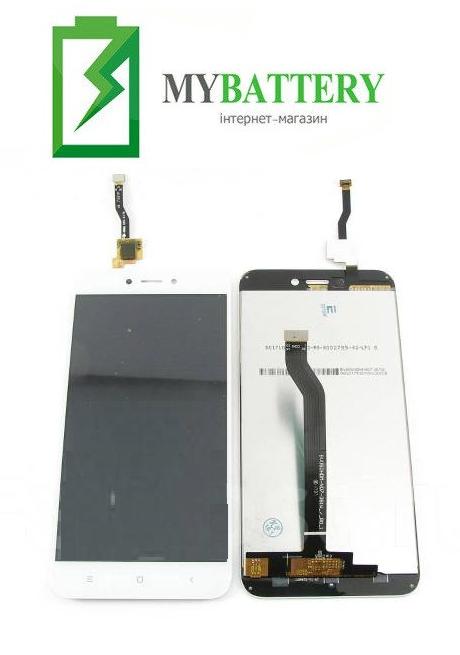 Дисплей (LCD) Xiaomi Redmi 5A с сенсором белый