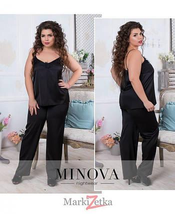 6cf45ce52cc68 Потрясающая женская шелковая пижама 50 размер батал: продажа, цена в ...