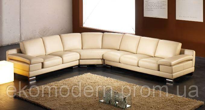 Угловой кожаный диван НЬЮ-ЙОРК - 500