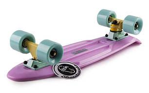 Скейт Пенни борд Penny Board Пенні  Fish Skateboards  22 Lilac - Лиловый, фото 2